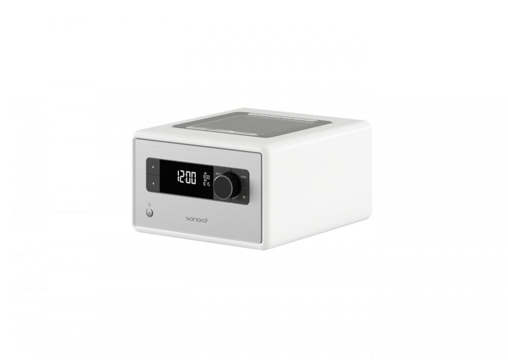 Sonoro DAB+ radio med bluetooth, hvit