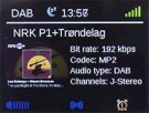 Trius DB-280C  DAB+/DAB/FM/BT Radio, sort thumbnail