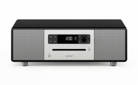 Sonoro Stereo DAB+ radio, sort matt