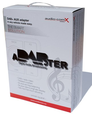 ACX aDABter v.3- Universal DAB+ adapter