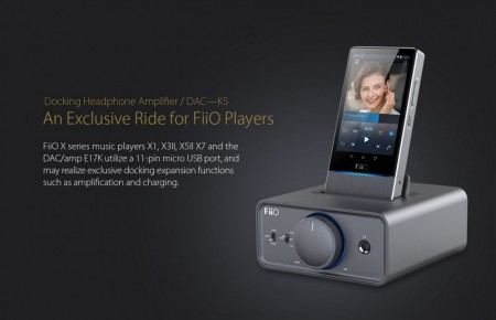 Fiio K5 Docking headphone amplifier
