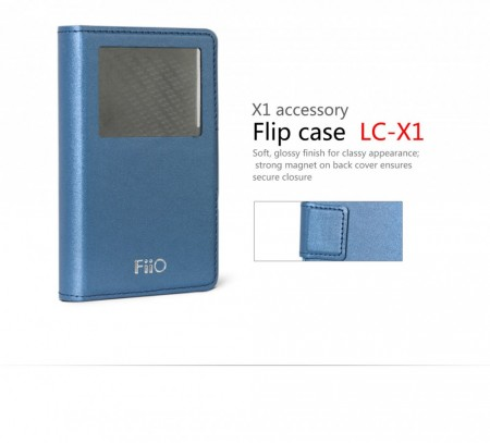 Fiio LC-X1 lether case for X1.
